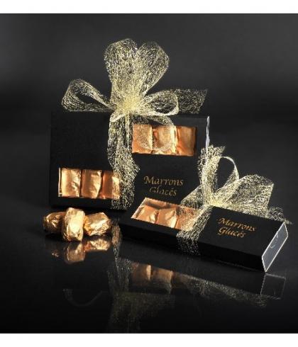 Coffret de 150 g de marrons glacés de Turin