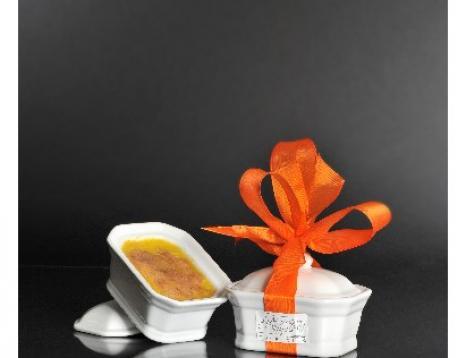 La terrine de foie gras de canard